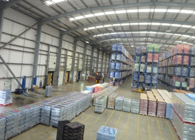 Armstrong Logistics warehousing consolidation and palletising